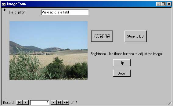 Store an image as a BLOB field in an Access database using VBA and